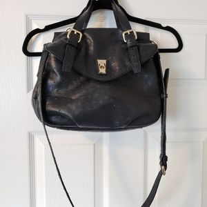 Marc by marc jacobs black ostrich leather purse